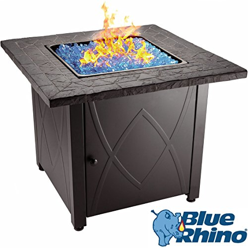 Key Features of the Blue Rhino Outdoor Propane Gas Fire Pit