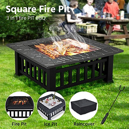 Compare with Yaheetech Outdoor Metal Firepit vs Camp Chef FP29LG Propane