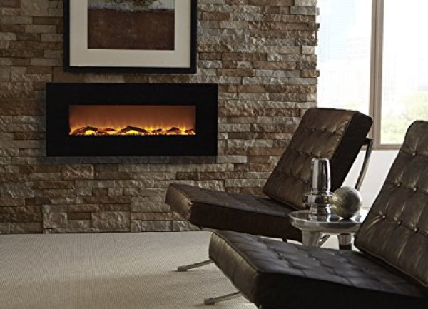 "Compare with Touchstone 80001 Onyx VS. Ollieroo 50"" Smokeless Wall Mounted Electric Fireplace"