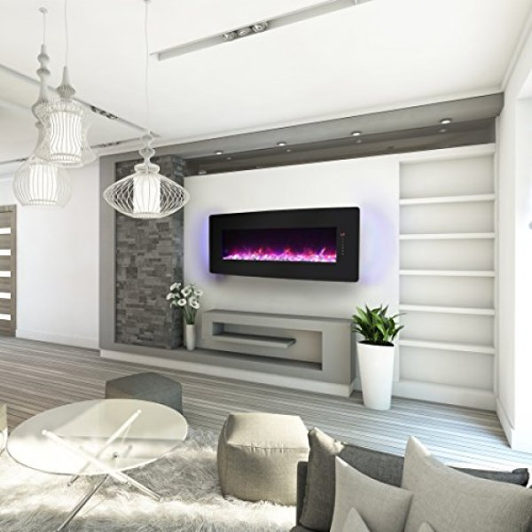 What users saying about Innoflame Wall Mounted Electric Fireplace?