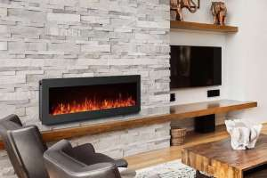 GMHome Freestanding Wall Mount Electric Fireplace Review