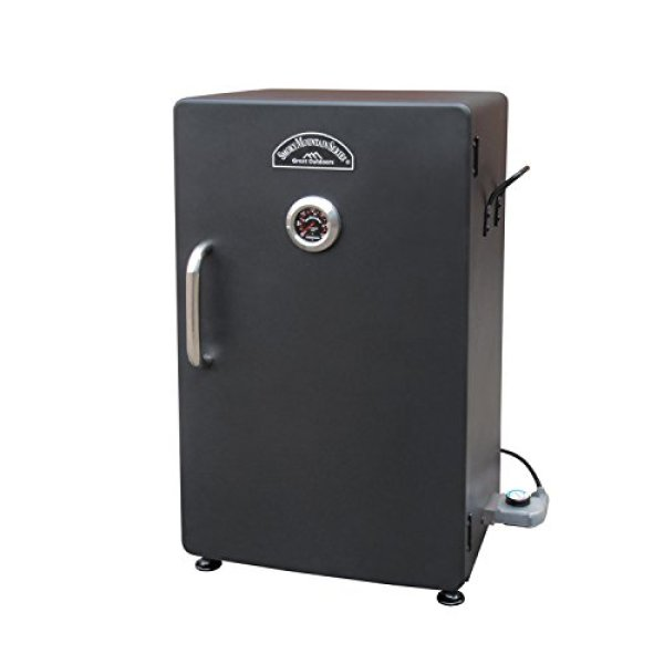 Landmann Smoker Reviews - Landmann USA Smoky Mountain Electric Smoker with Viewing Window, 26″