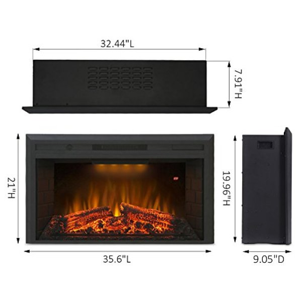 Does it worth your invest according to Valuxhome Houselux Fireplace Insert specs?