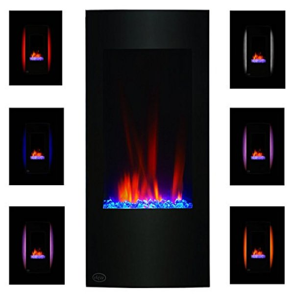 What's the disadvantage of Clevr Vertical Wall Mounted Electric Fireplace Heater?