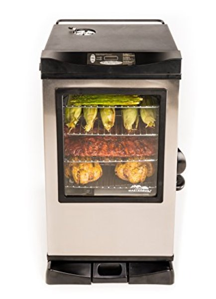 Masterbuilt Electric Smoker Reviews - Masterbuilt 20077515 Front Controller Electric Smoker