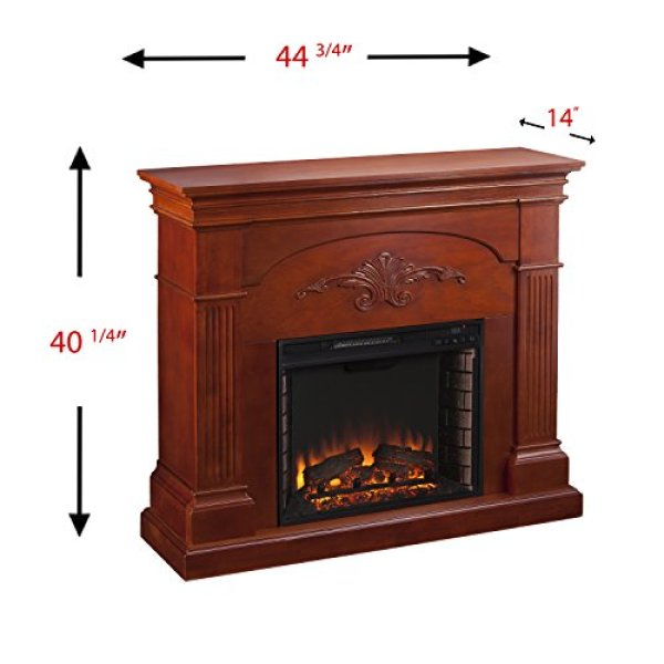 What users saying about SEI Sicilian Harvest Electric Fireplace?