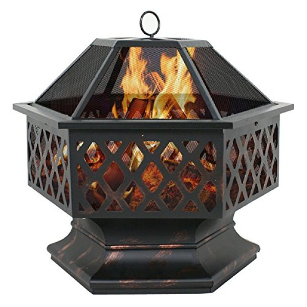Key Features of the F2C Outdoor Hex Shape Fire Pit
