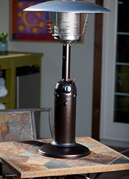What users are saying aboutFire Sense 61322 Hammer Tone Table Top Patio Heater?