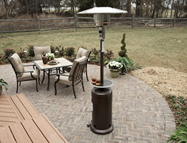 AZ Patio Heaters HLDS01-WCGT Tall Patio Heater Review