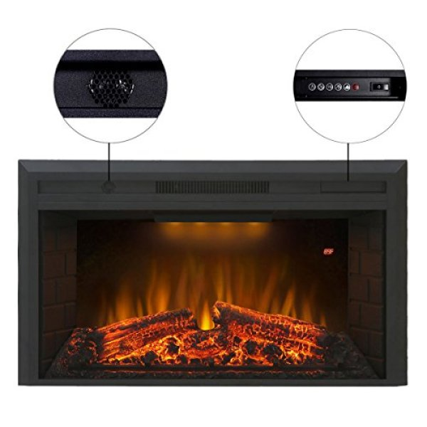 Valuxhome Houselux Electric Fireplace Insert Review