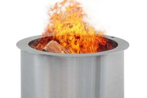 Double Flame Patio Fire Pit Review - Is it better than Solo Stove?