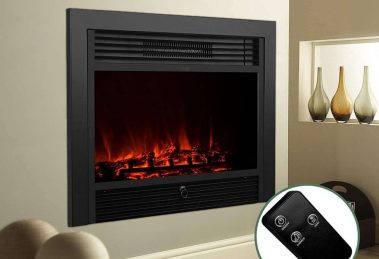 KUPPET YA-300 Embedded Electric Fireplace Insert Review