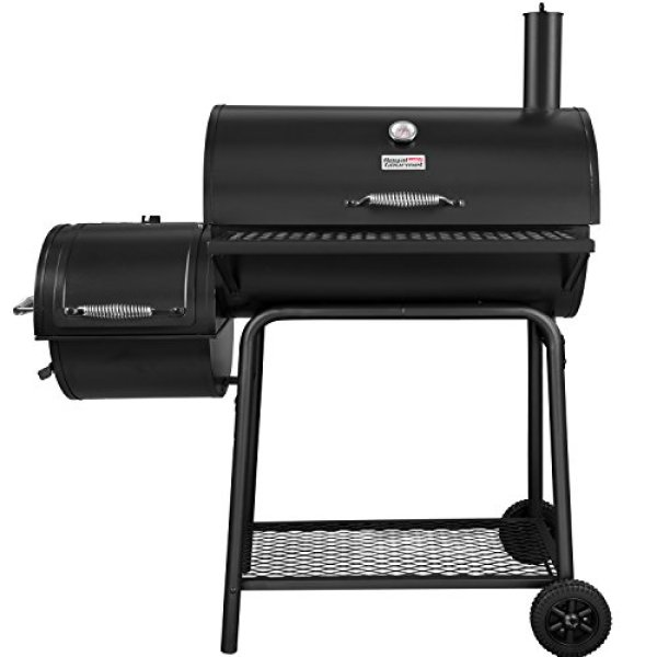 Royal Gourmet Charcoal Grill with Offset Smoker Review - Fireplacelab.com