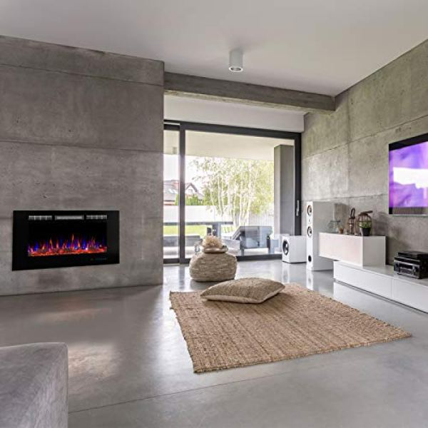 What's the Disadvantage of Valuxhome Armanni Wall Recessed Electric Fireplace Heater