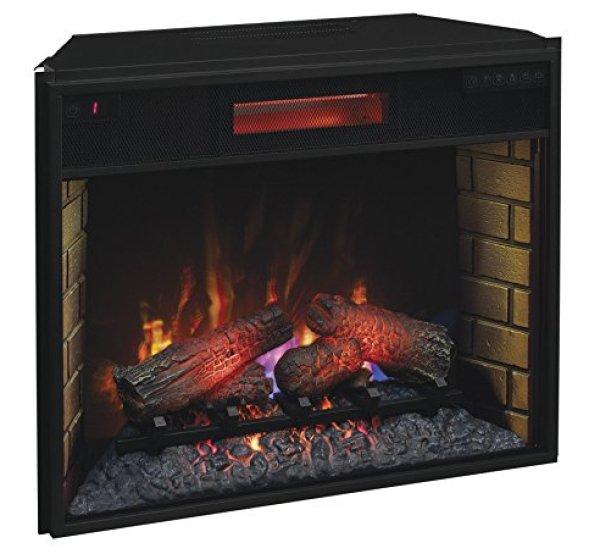 Best electric fireplace insert 2018: Classic Flame 28II300GRA Infrared Quartz Fireplace Insert