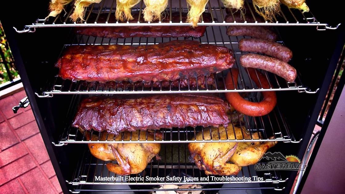 Masterbuilt Electric Smoker Safety Issues and Troubleshooting Tips