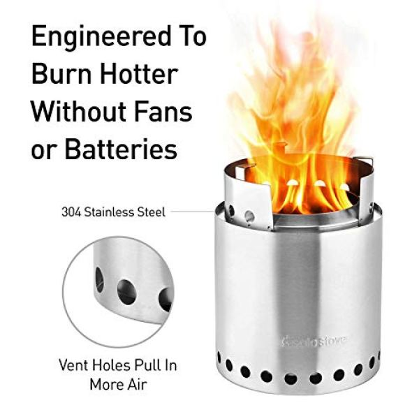 Truly It's Comparable with Solo Stove Campfire?