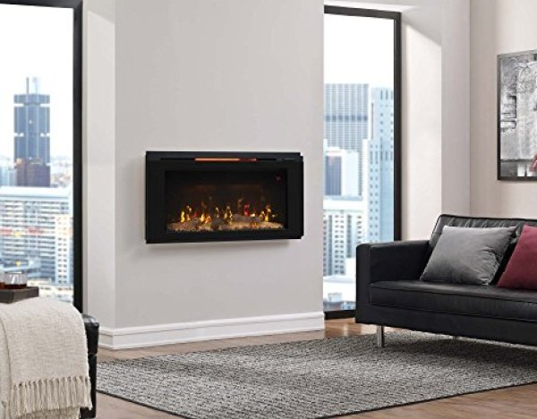 Best wall mount electric fireplace 2018: Classic Flame 36HF320FGT Helen Wall Mounted Electric Fireplace