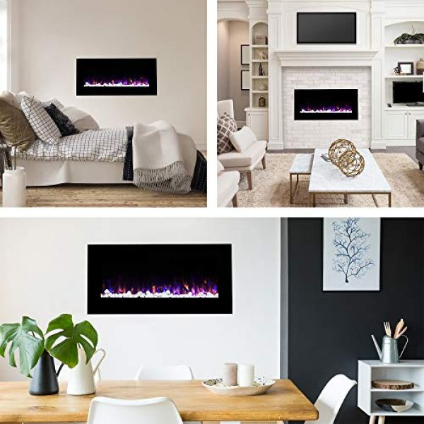 Northwest Wall Mounted Electric Fireplace Review