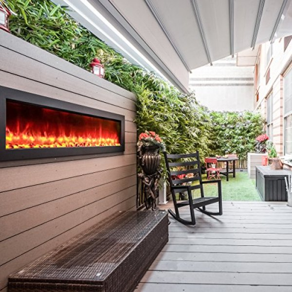 What users are saying about the Touchstone 80017 Sideline Outdoor Fireplace?