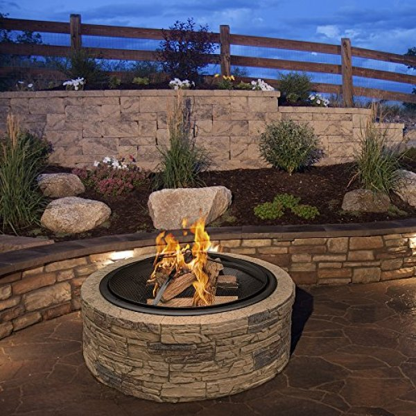 What Users Say About the Sun Joe SJFP35-STN Cast Stone Fire Pit