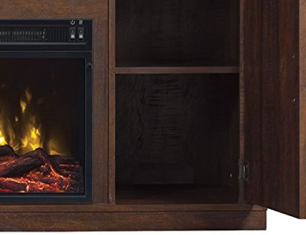 Disadvantages of the Comfort Smart Killian Electric Fireplace TV Stand