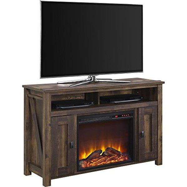 CompareAmeriwood Home Farmington Electric Fireplace TV Console vs. Comfort Smart Killian Electric Fireplace TV Stand