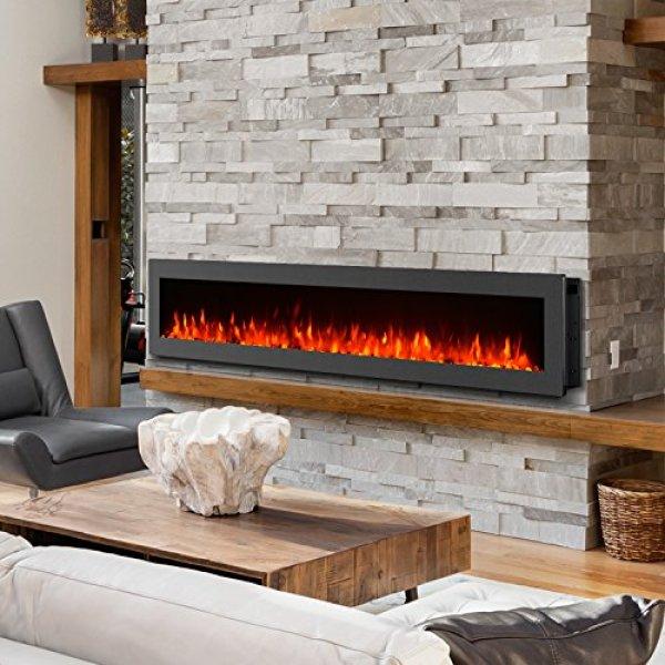 CompareGMHomeFreestandingWall MountedElectric Fireplacevs.Regal Flame Charlotte Bio Ethanol Wall Mounted Fireplace
