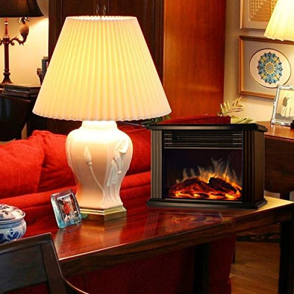 What Users Saying About DONYER POWER Mini Electric Fireplace