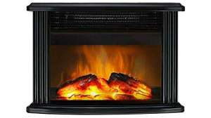 DONYER POWER Mini Electric Fireplace Review