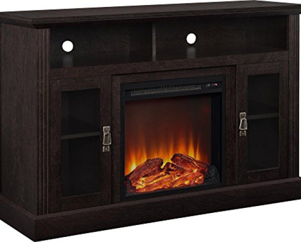 Compare JAMFLY Freestanding Electric Fireplace with Ameriwood Home Electric Fireplace