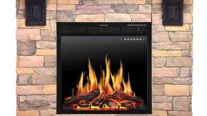 JAMFLY Wall Mantel Freestanding Electric Fireplace Review