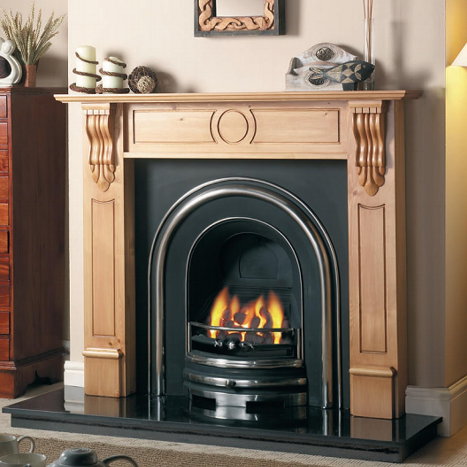 Cast Tec Royal Arch Cast Iron Fireplace Insert