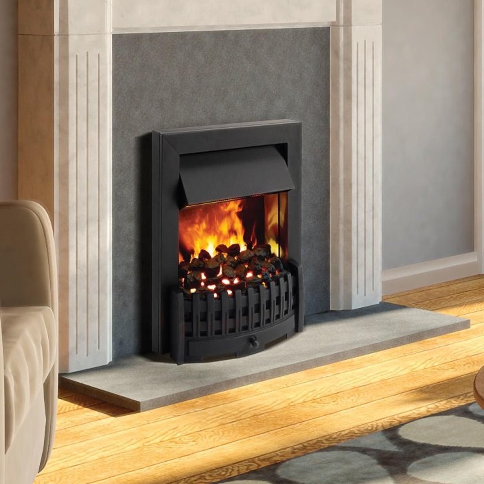 Classic Style Opti Myst Black Electric Fire