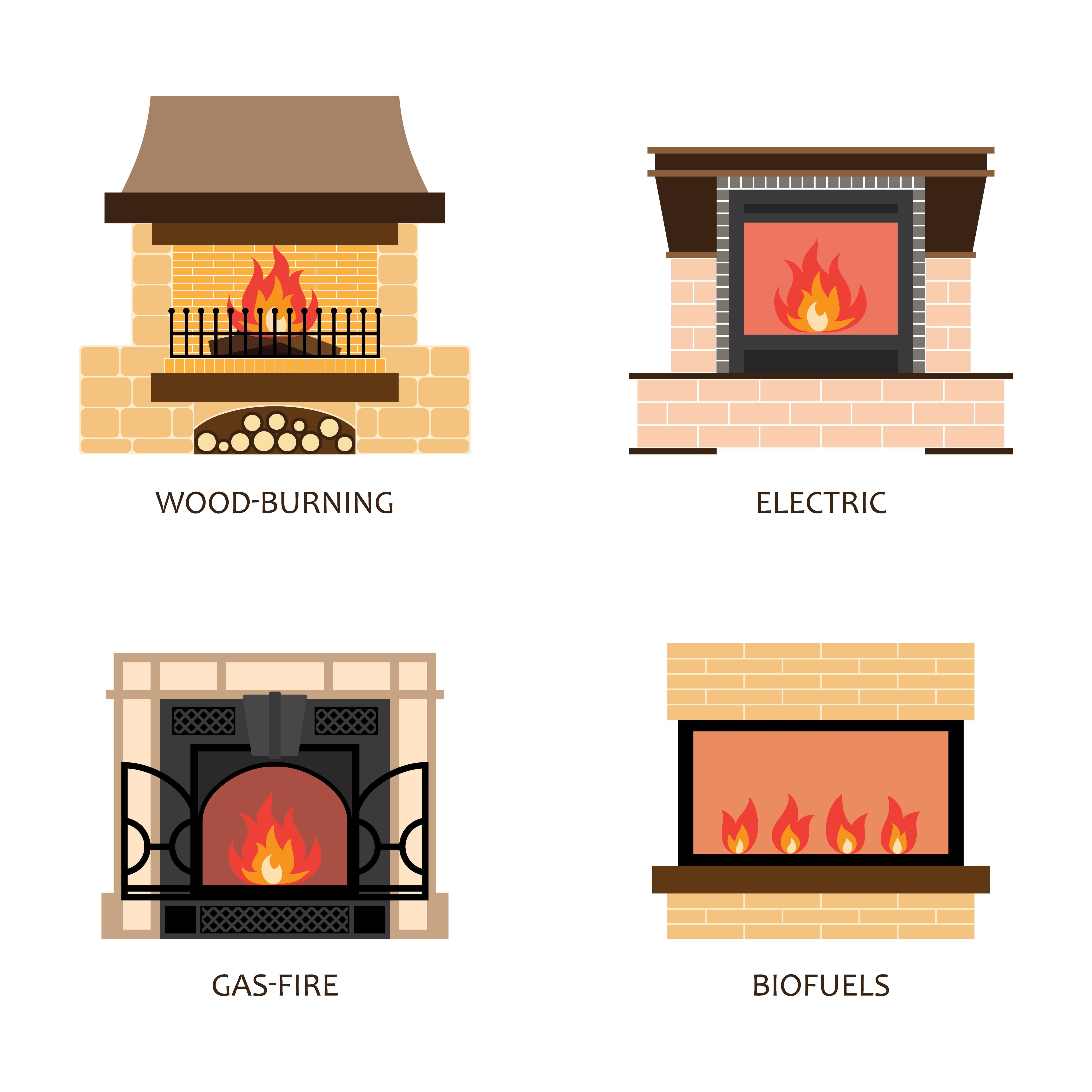 Breaking Down Gas Vs Electric Fireplaces