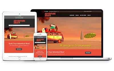 Adventure Away Website Design | Anna Maria Island, Florida