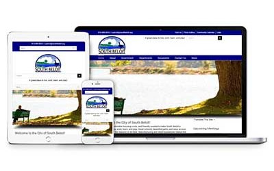 City of South Beloit Website Design and Maintenance