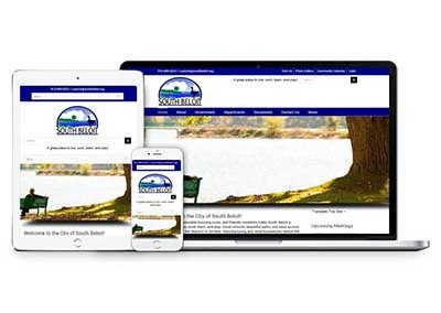 City of South Beloit Website Design and Maintenance