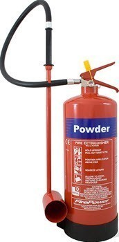 metal powder fire extinguisher