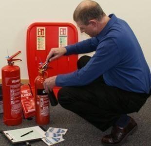 fire extinguisher service