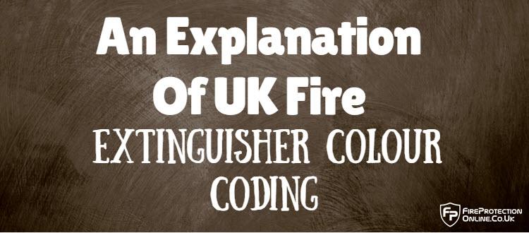 UK Fire Extinguisher Colour Coding