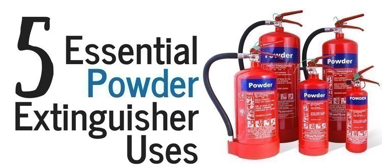 Where should the extinguisher be located in the premises