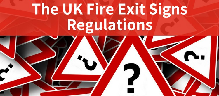 fire exit signs regulations