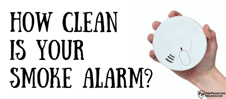 How Clean Is Your Smoke Alarm