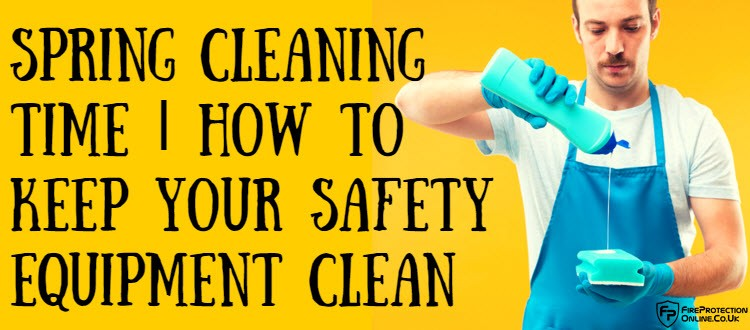 safety equipment clean