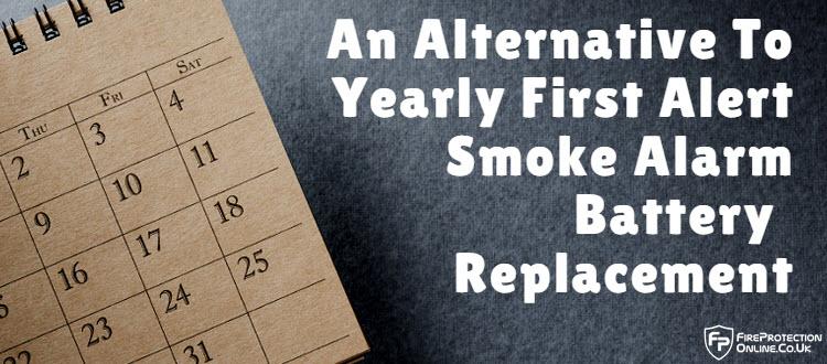 smoke alarm battery replacement