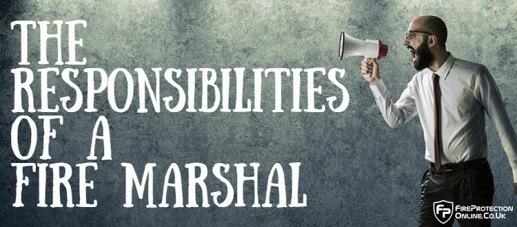 fire marshal responsibilities