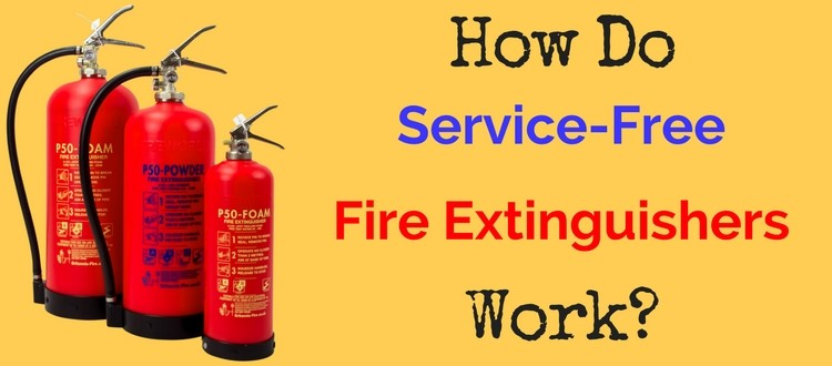 Service-Free Fire Extinguishers