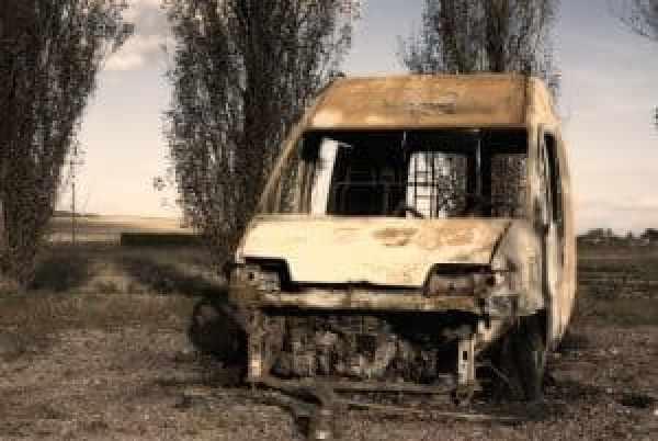 Van Fire