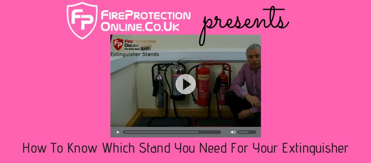 How To Know Which Stand You Need For Your Extinguisher